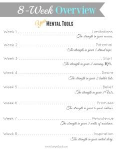 8 week overview mind