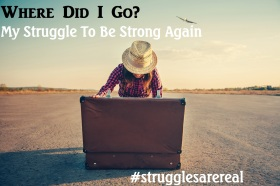 """""""Where did I go?"""" Struggles are real..."""