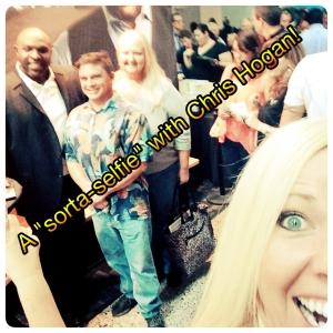 sorta selfie with chris hogan