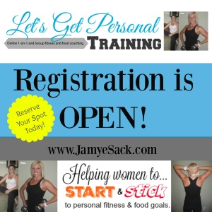 Lets get personal training reserve your spot image