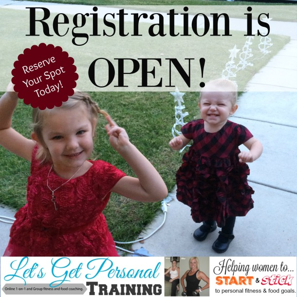 registration is open with girls image